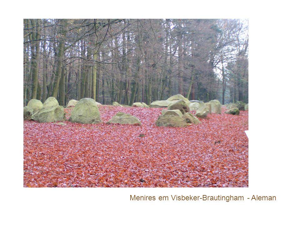 Menires em Visbeker-Brautingham - Aleman