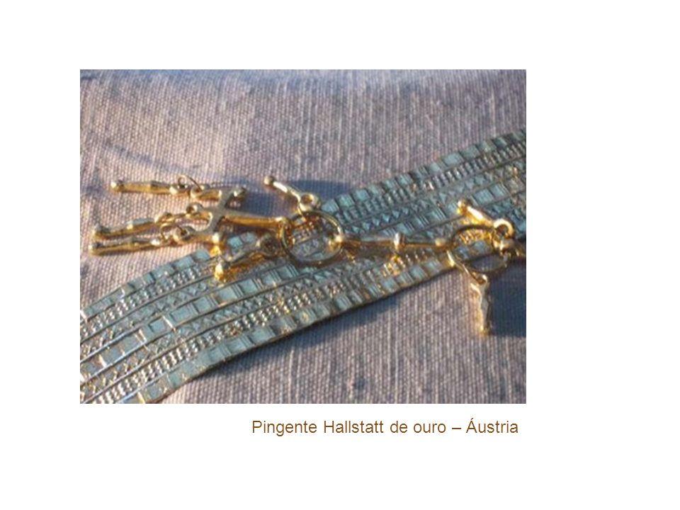 Pingente Hallstatt de ouro – Áustria