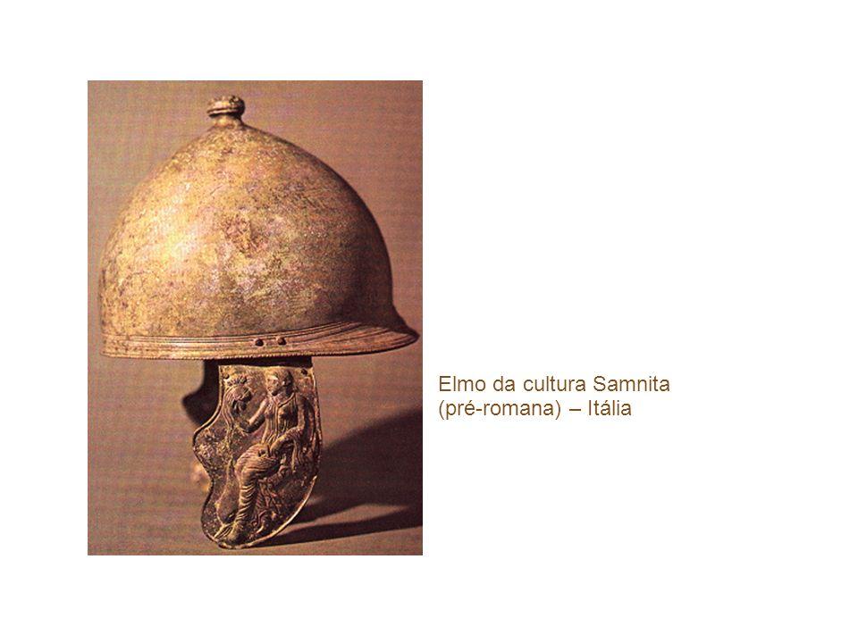Elmo da cultura Samnita (pré-romana) – Itália