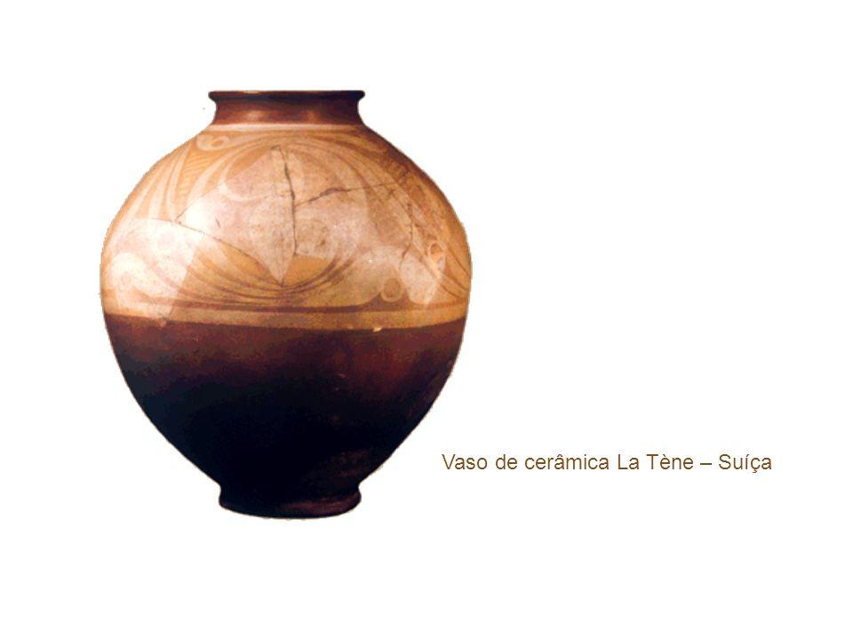 Vaso de cerâmica La Tène – Suíça