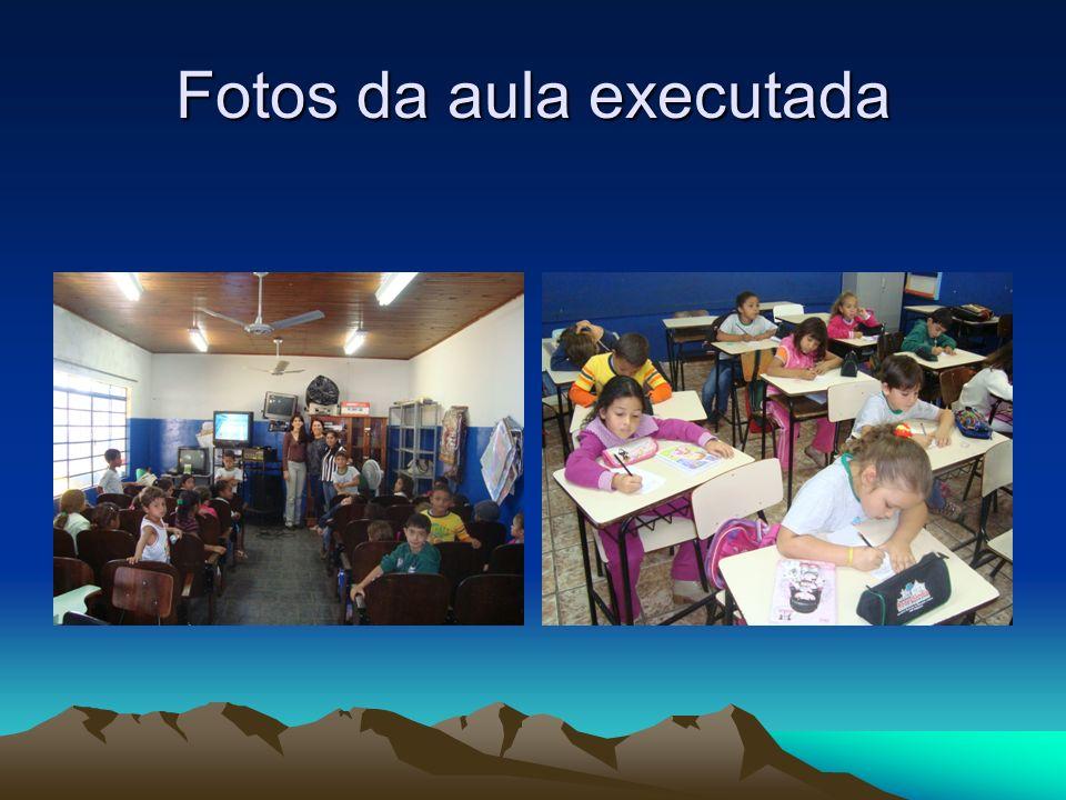 Fotos da aula executada