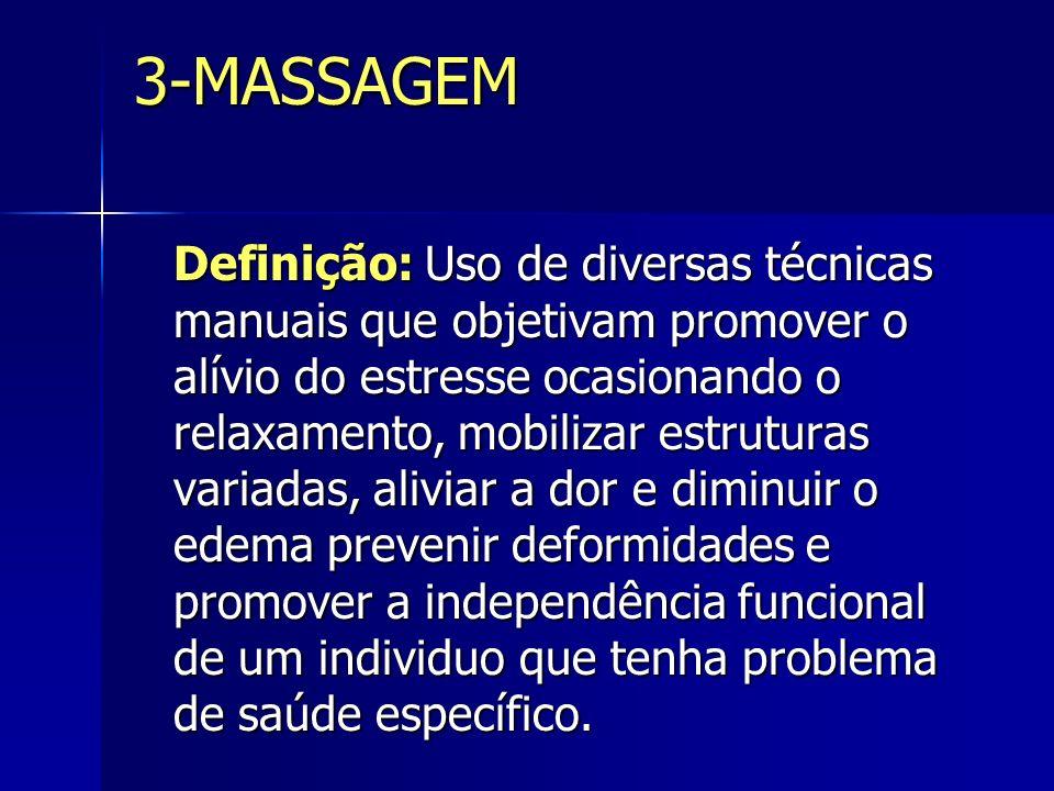 FRICÇÃO São movimentos circulares ou transversais mobilizando o tecido superficial em relação ao profundo, não utiliza lubrificante.