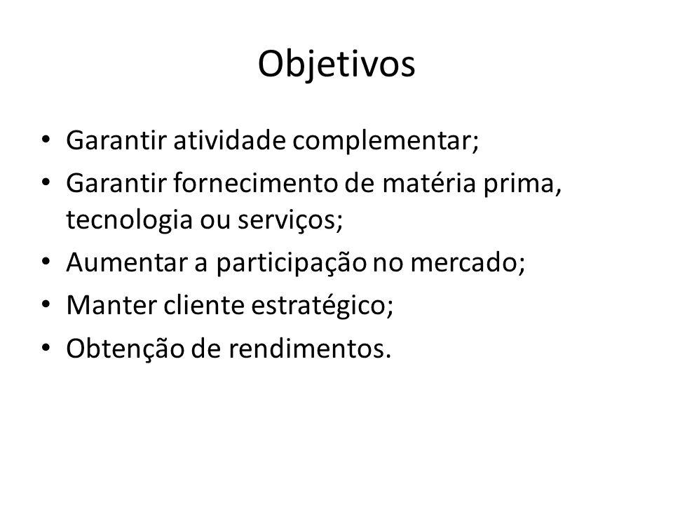 Classificação das participações Instrumentos financeiros (TEMPORÁRIOS): quando a intenção for a obtenção de ganhos financeiros.