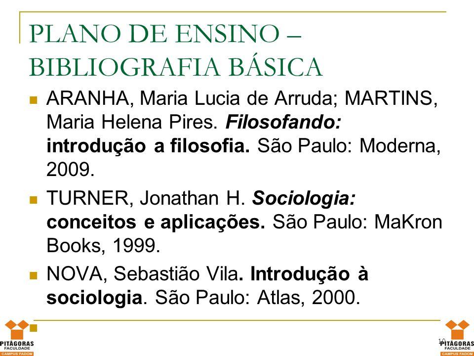 BIBLIOGRAFIA COMPLEMENTAR LARAIA, Roque de Barros.