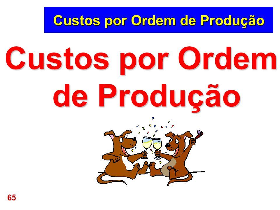 65 Custos por Ordem de Produção