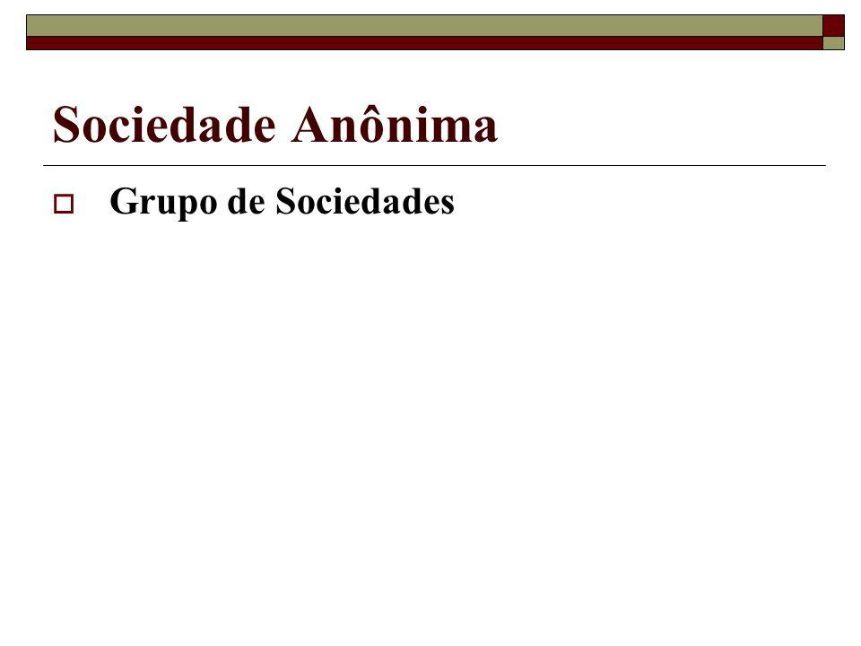 Sociedade Anônima Grupo de Sociedades