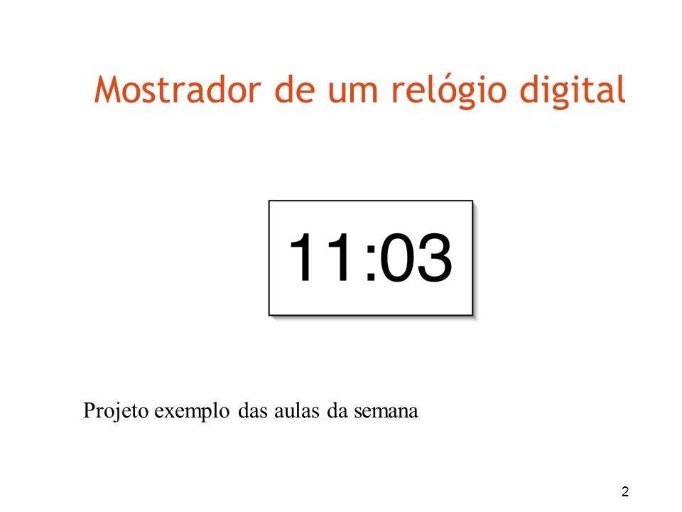 23 Objetos criando objetos (2) hours = new NumberDisplay(24); public NumberDisplay(int rollOverLimit); Na classe ClockDisplay: Na classe NumberDisplay: parâmetro formal parâmetro real