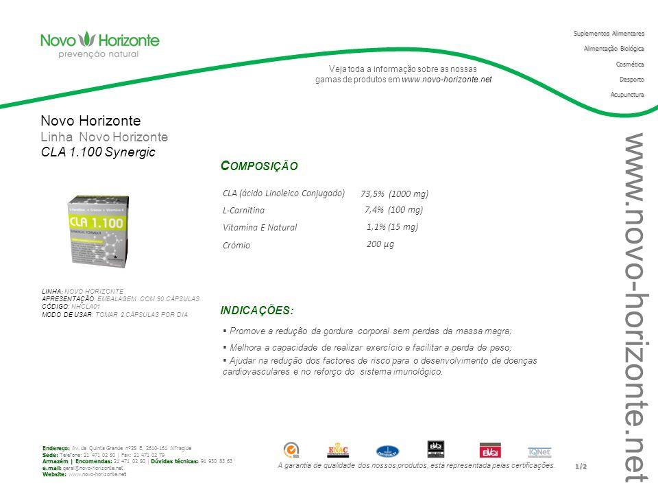 A garantia de qualidade dos nossos produtos, está representada pelas certificações.