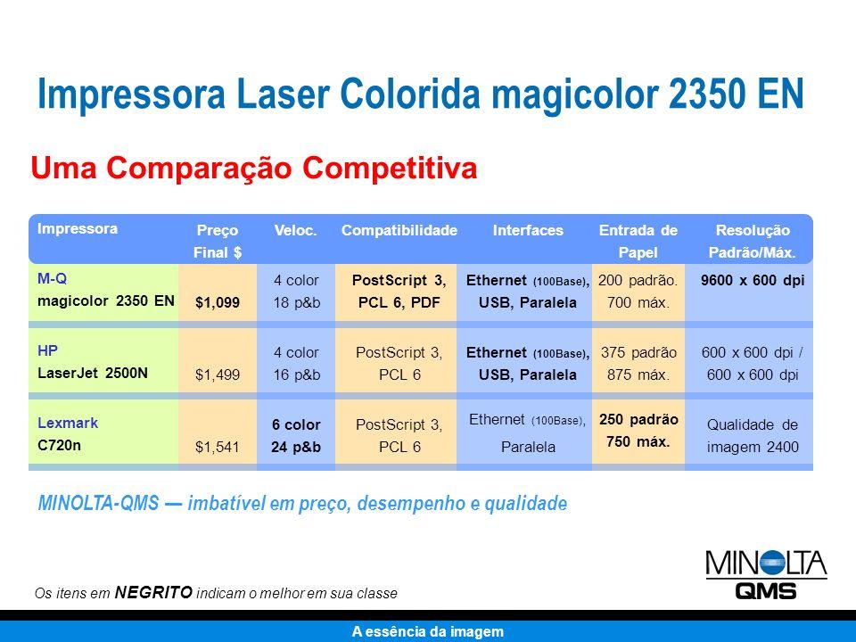 A essência da imagem Compacta Qualidade fotográfica Pronta para rede Amigável Compatível PC & Mac Custo acessível U$1.099*U$1.099* * Todos os preços aqui exibidos são preços finais estimados.