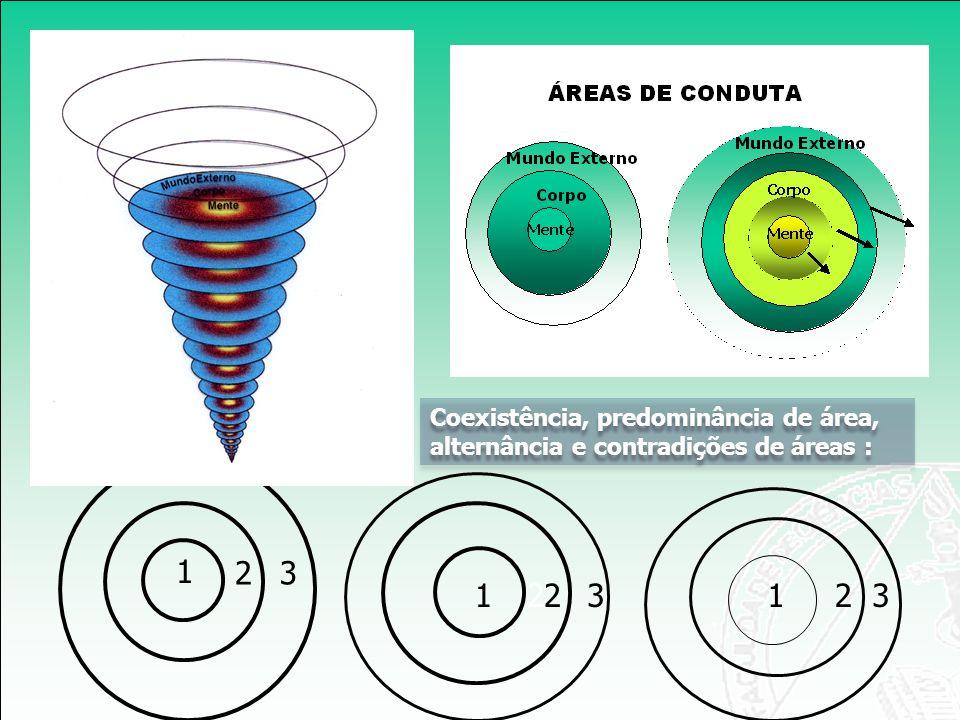 1 211 Coexistência, predominância de área, alternância e contradições de áreas : 23 2323