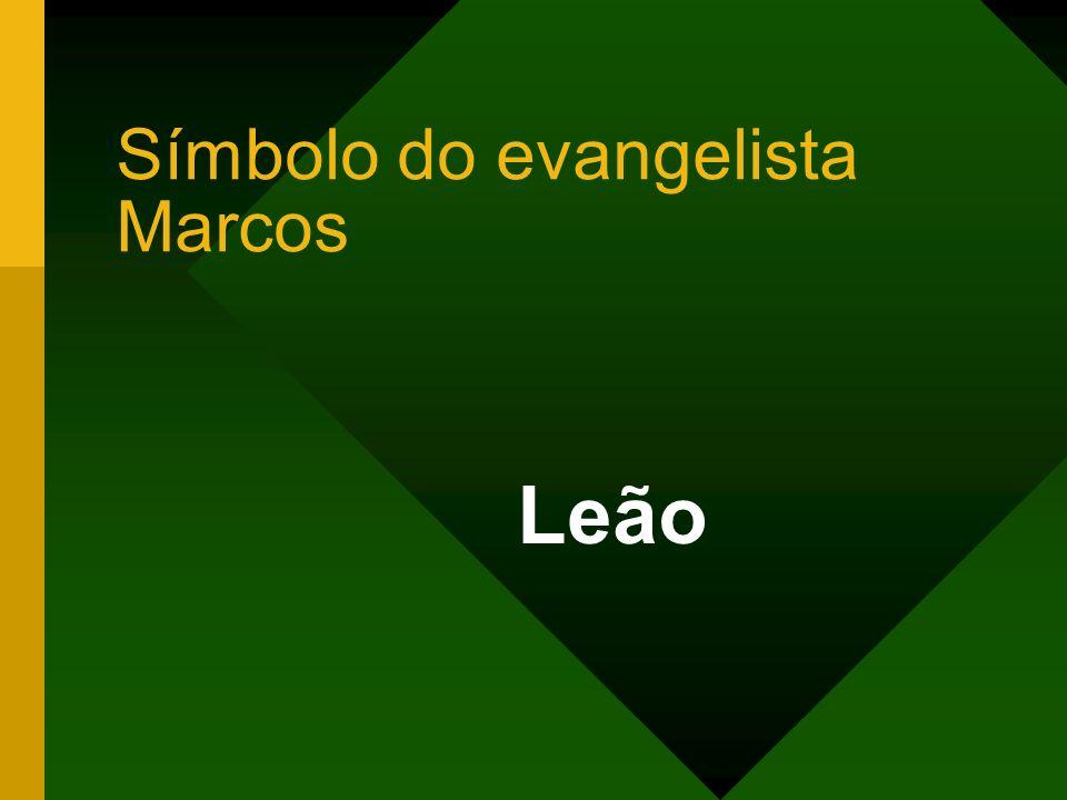 Símbolo do evangelista Marcos Leão
