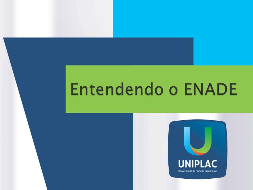 O ENADE tem como objetivo o acompanhamento do processo de aprendizagem e do desempenho acadêmico dos estudantes em relação aos conteúdos programáticos