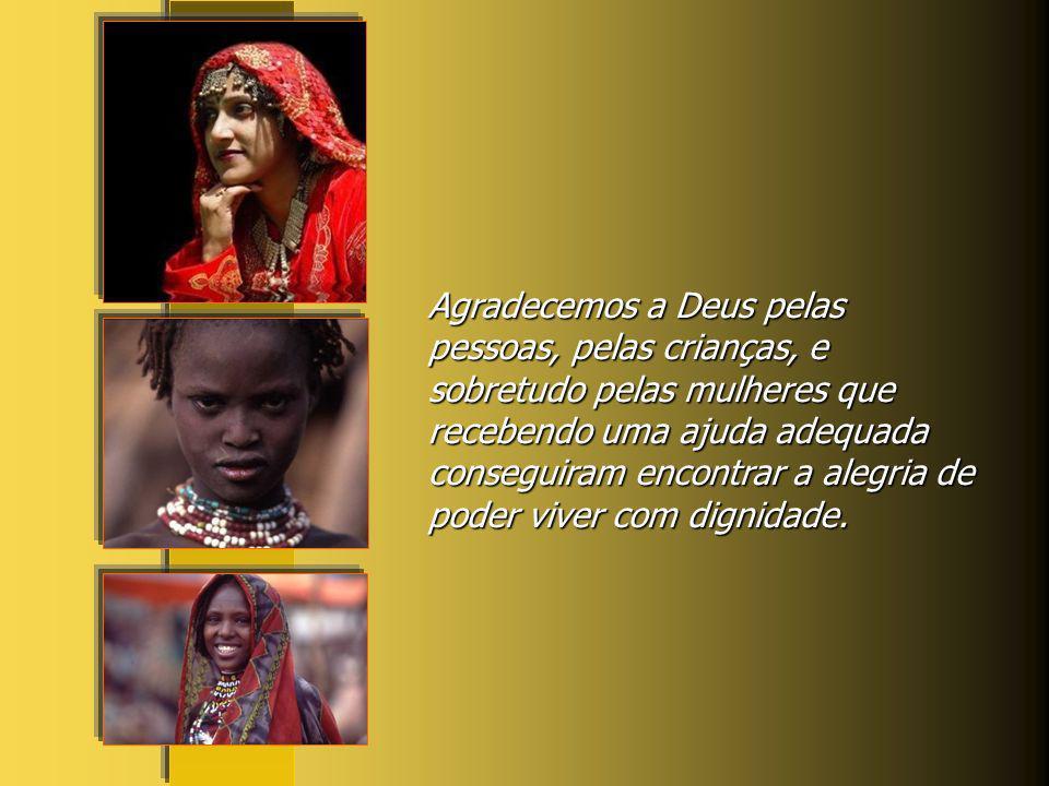Recordamos nesta oração especialmente aquela multidão de mulheres migrantes vítimas do engano, de uma sociedade que usa das pessoas produzindo enfim u