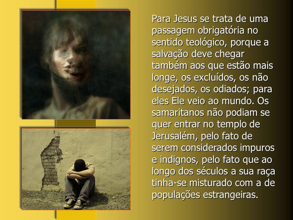 A história desta mulher escrita pelo evangelista São João apresenta o encontro e o diálogo de Jesus com a Samaritana em uma cidade da Samaria. Um jude