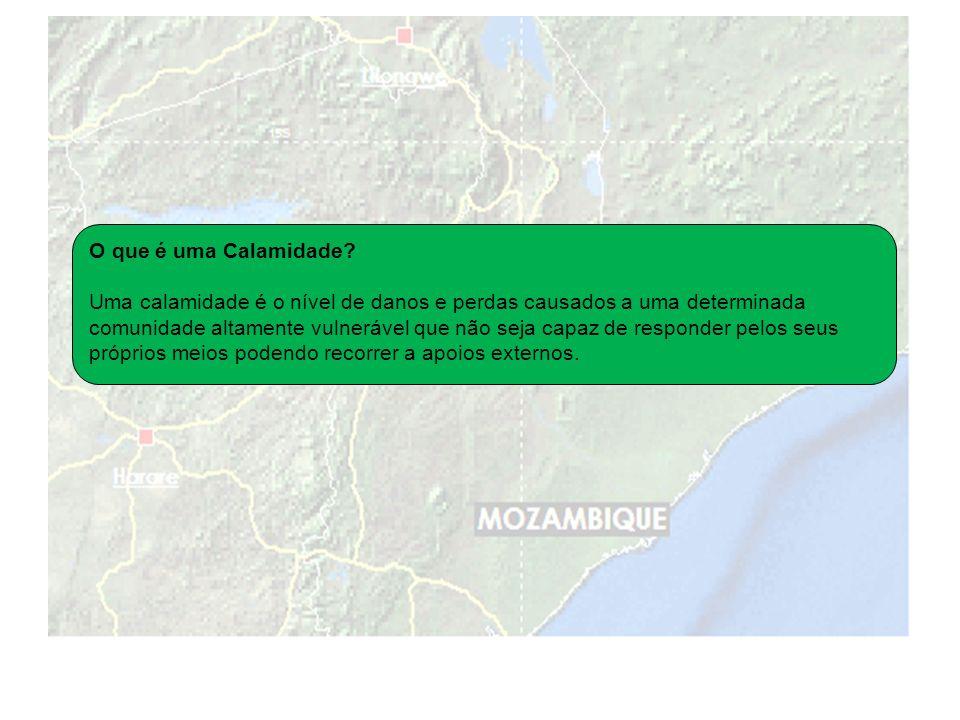 O que é uma Calamidade.