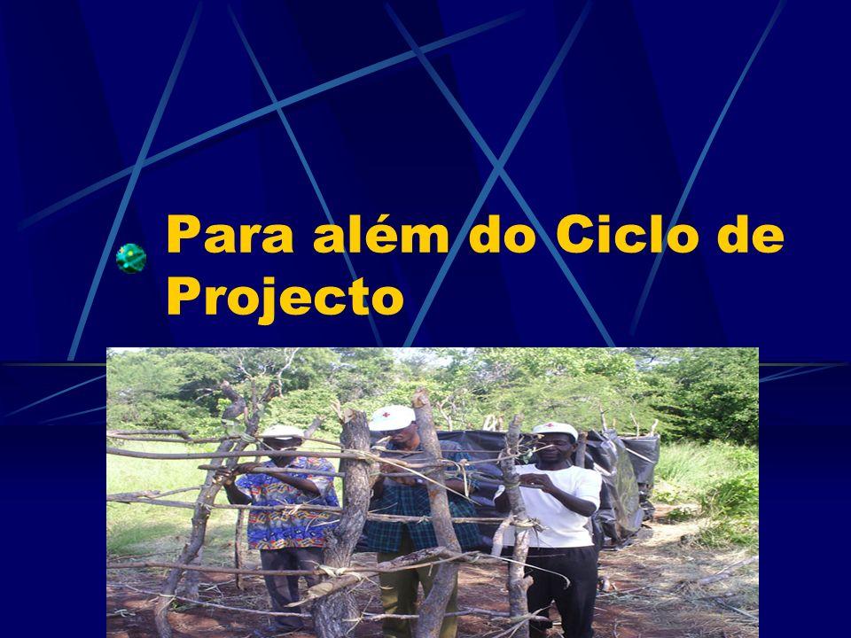 Para além do Ciclo de Projecto