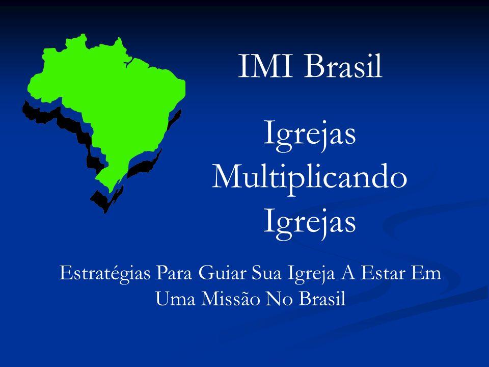 IMI Brasil Igrejas Multiplicando Igrejas Estratégias Para Guiar Sua Igreja A Estar Em Uma Missão No Brasil