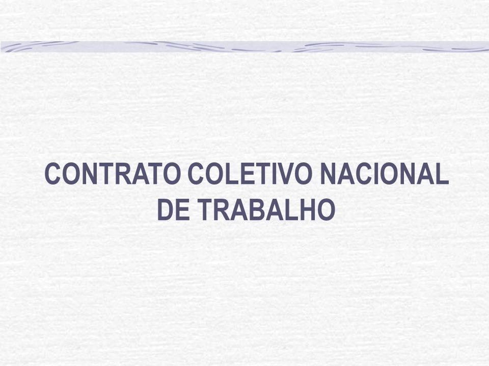 CONTRATO COLETIVO NACIONAL DE TRABALHO