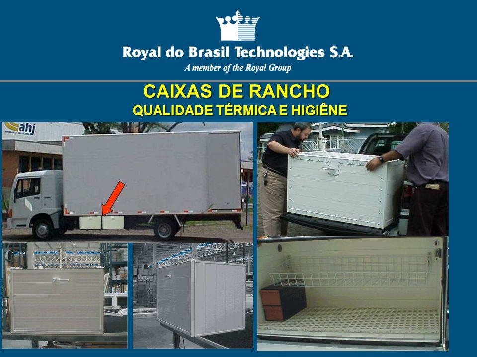CAIXAS DE RANCHO QUALIDADE TÉRMICA E HIGIÊNE