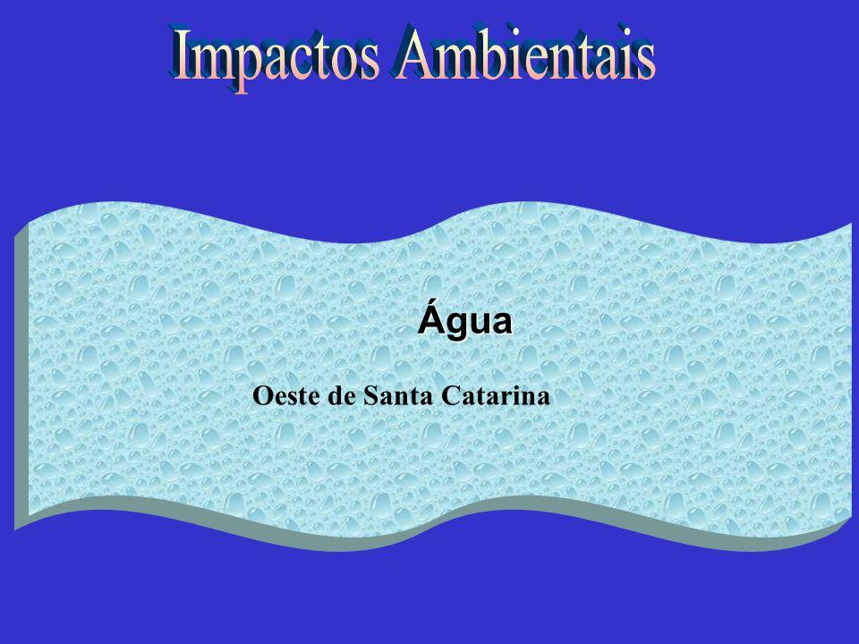 Água Oeste de Santa Catarina
