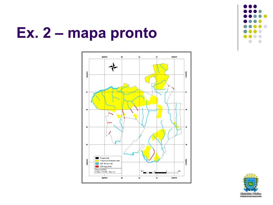 Ex. 2 – mapa pronto