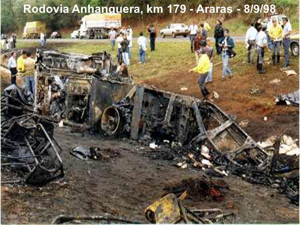 Rodovia Anhanguera, km 179 - Araras - 8/9/98