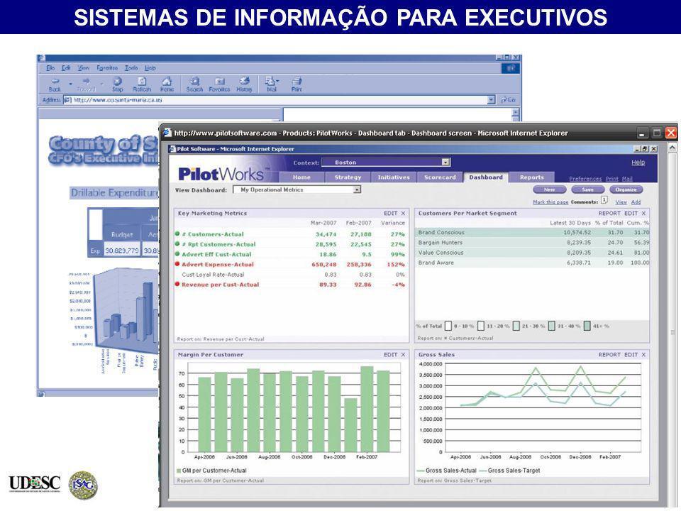 (EIS - Executive Information System) SISTEMAS DE INFORMAÇÃO PARA EXECUTIVOS