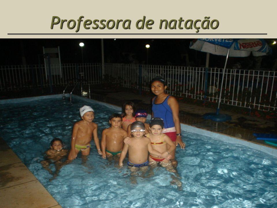 Professora de natação