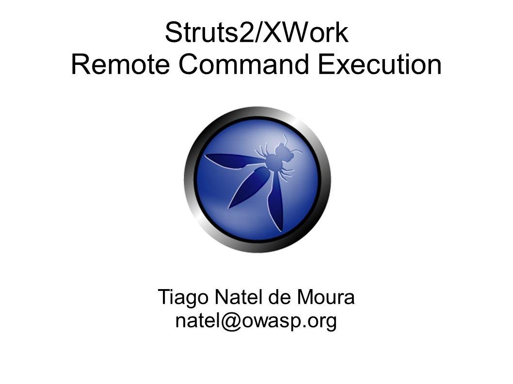 Como Struts2 e OGNL conduzem para uma execução remota de código 1.
