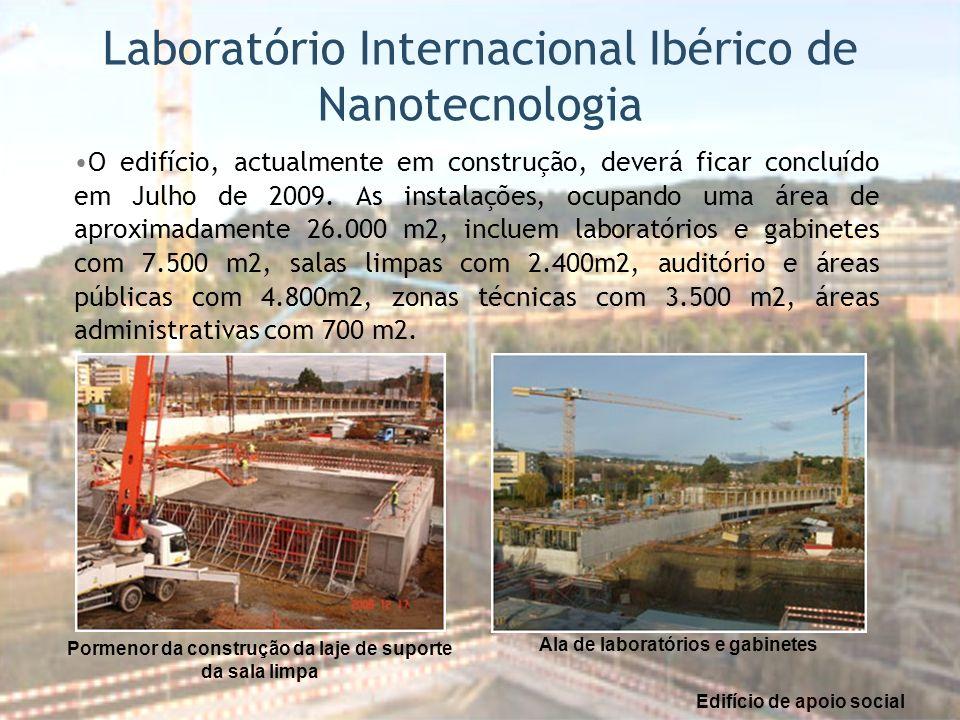 O edifício, actualmente em construção, deverá ficar concluído em Julho de 2009. As instalações, ocupando uma área de aproximadamente 26.000 m2, inclue