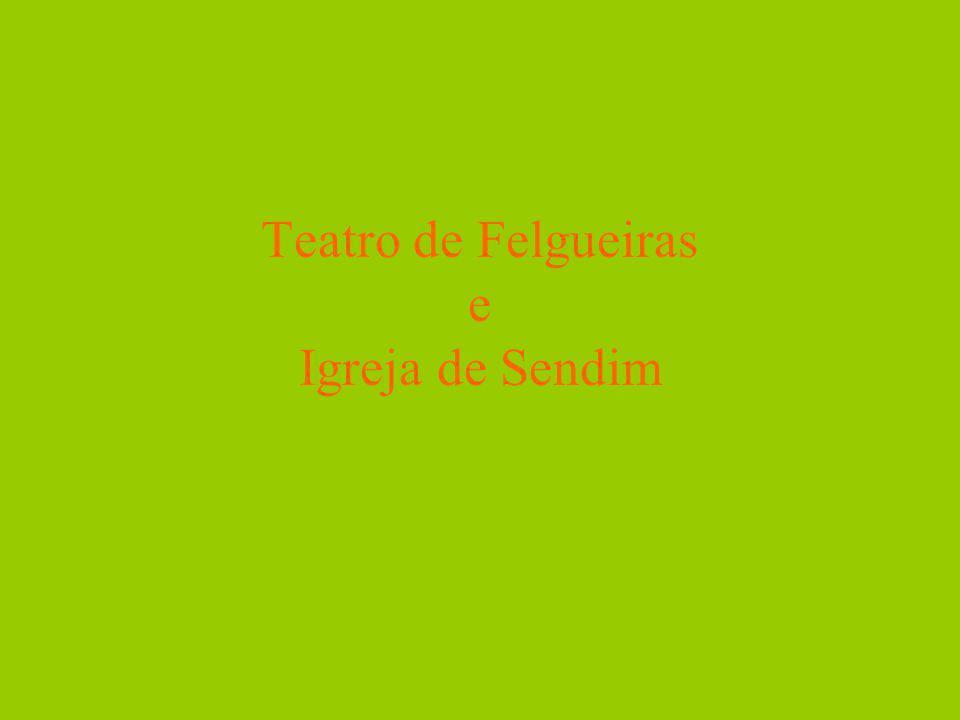 Introdução Neste trabalho vamos falar sobre dois dos monumentos do nosso concelho: a Igreja de São Tiago de Sendim e o Teatro Fonseca Moreira.