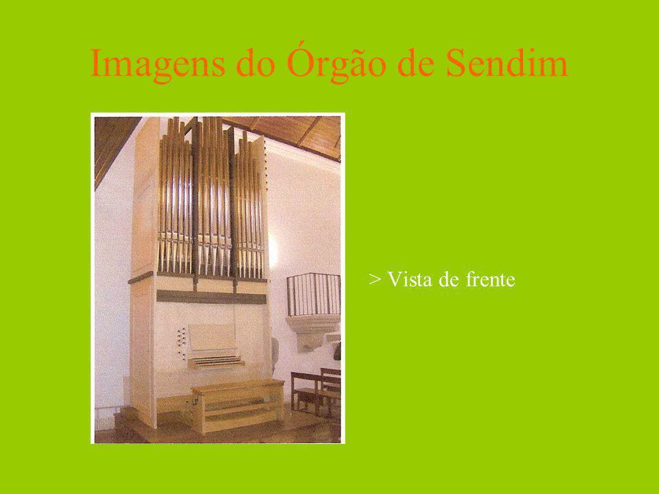 Imagens do Órgão de Sendim > Vista de frente