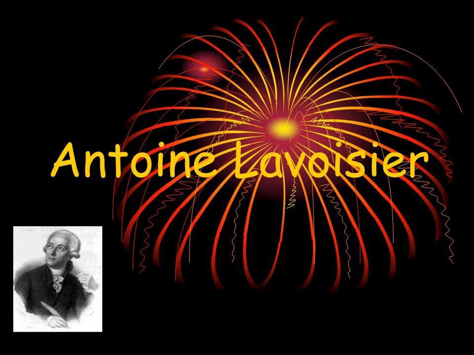 Considerado o fundador da Química moderna, Lavoisier nasceu em 1743, em Paris, e faleceu em 1794, após ter sido condenado à morte na guilhotina.