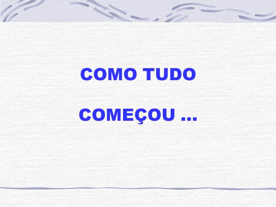 COMO TUDO COMEÇOU...