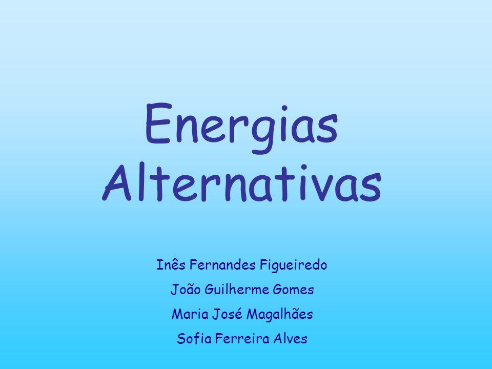 Energias Alternativas As Energias Alternativas surgiram como soluções para diminuir o impacto ambiental, e para contornar o uso de matéria-prima que normalmente é não renovável no caso da energia convencional, como o carvão e petróleo por exemplo.