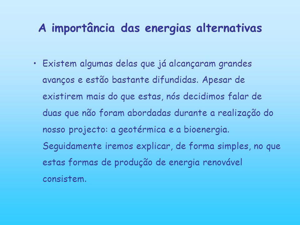 Bioenergia Bioenergia é a energia gerada apartir de material vegetal (biomassa).