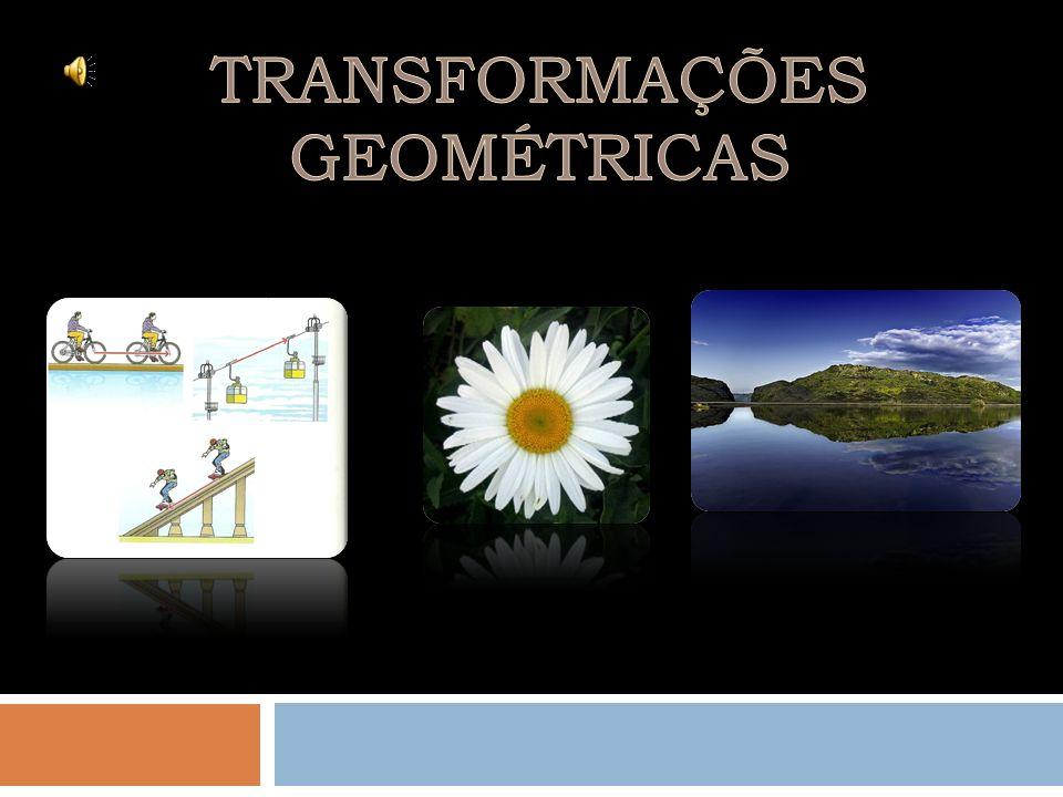 Isometrias Não isometrias TranslaçõesRotaçõesReflexões Homotetias Não vamos estudar as Não isometrias.