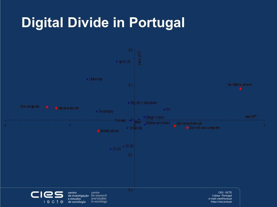 Digital Divide in Portugal