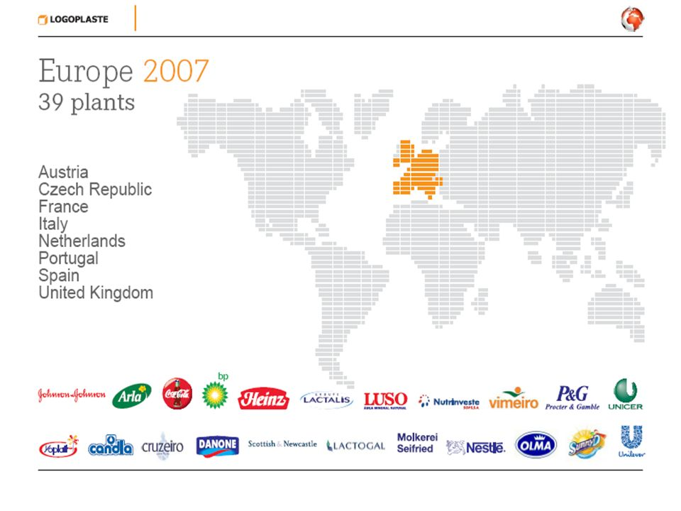 Global project Development of high speed stretch blow molding technology Technology now used around the world Success of project resulted in a hole through the wall operation – over 250 million bottles per year Fairy (p&g) - uk