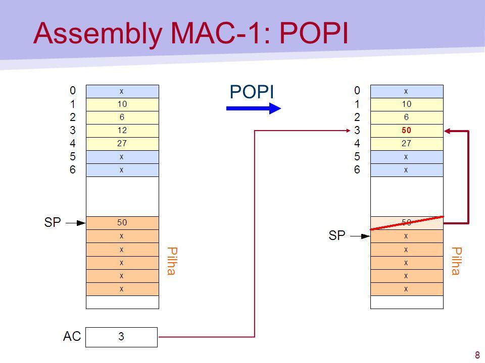8 Assembly MAC-1: POPI POPI