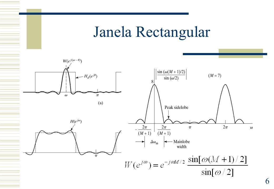 6 Janela Rectangular
