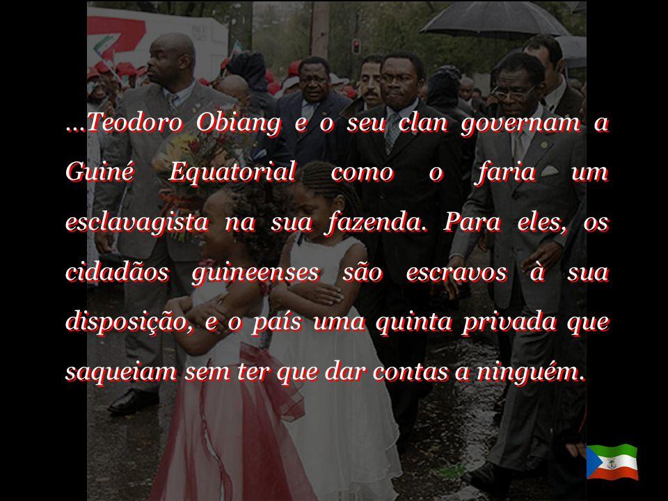 …ou negócios dos guineenses não ligados ao governo ou à família Obiang (que ao fim e ao cabo é o mesmo), cuja ignomínia chega ao ponto de despojar imp