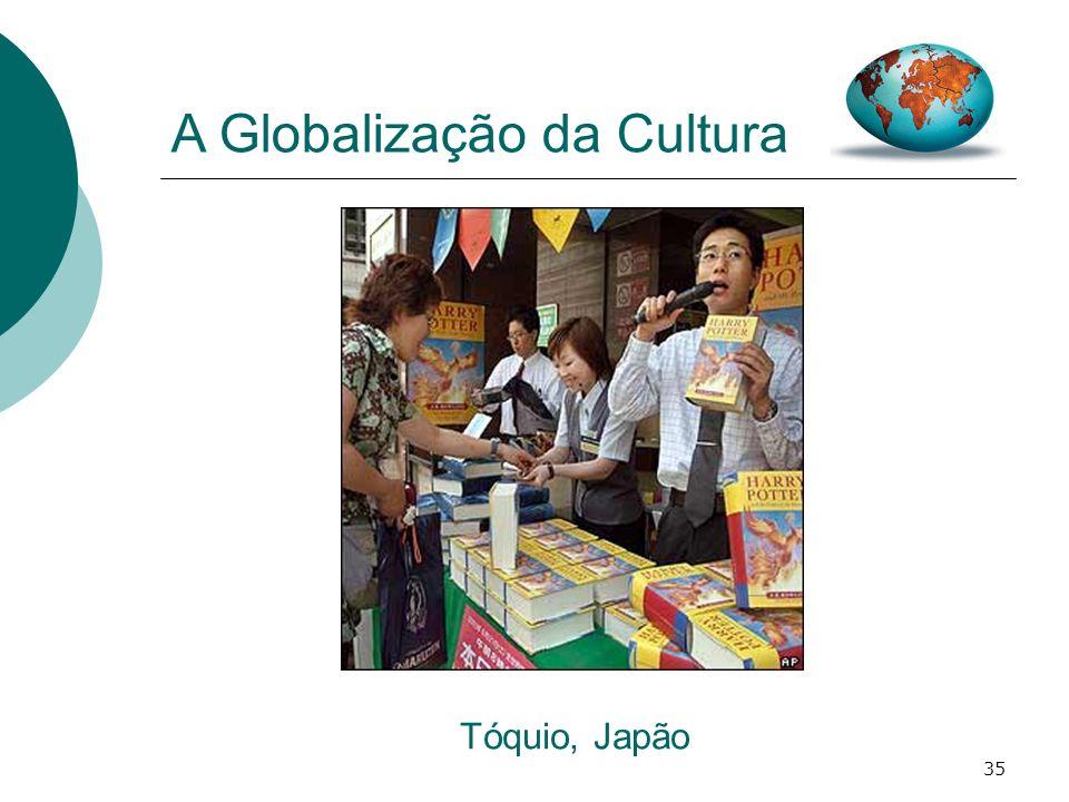 35 A Globalização da Cultura Tóquio, Japão