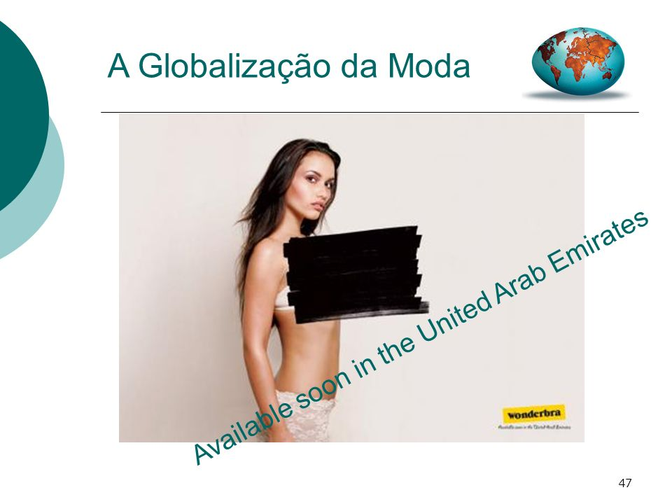 47 A Globalização da Moda Available soon in the United Arab Emirates