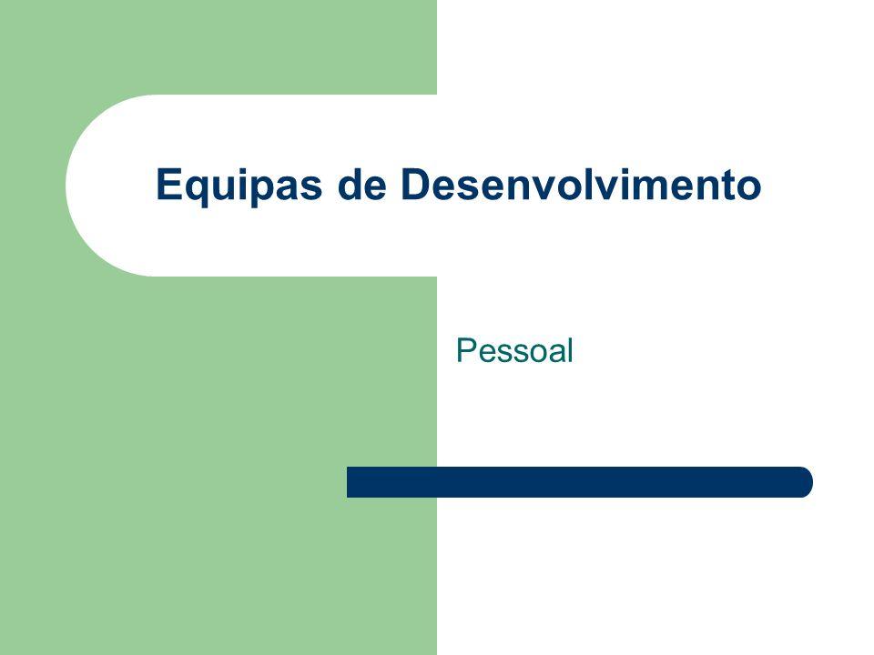 Equipas de Desenvolvimento Pessoal