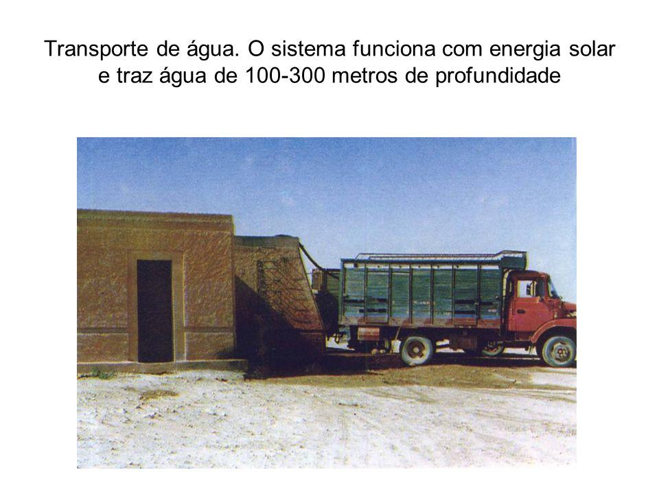 Transporte de água.