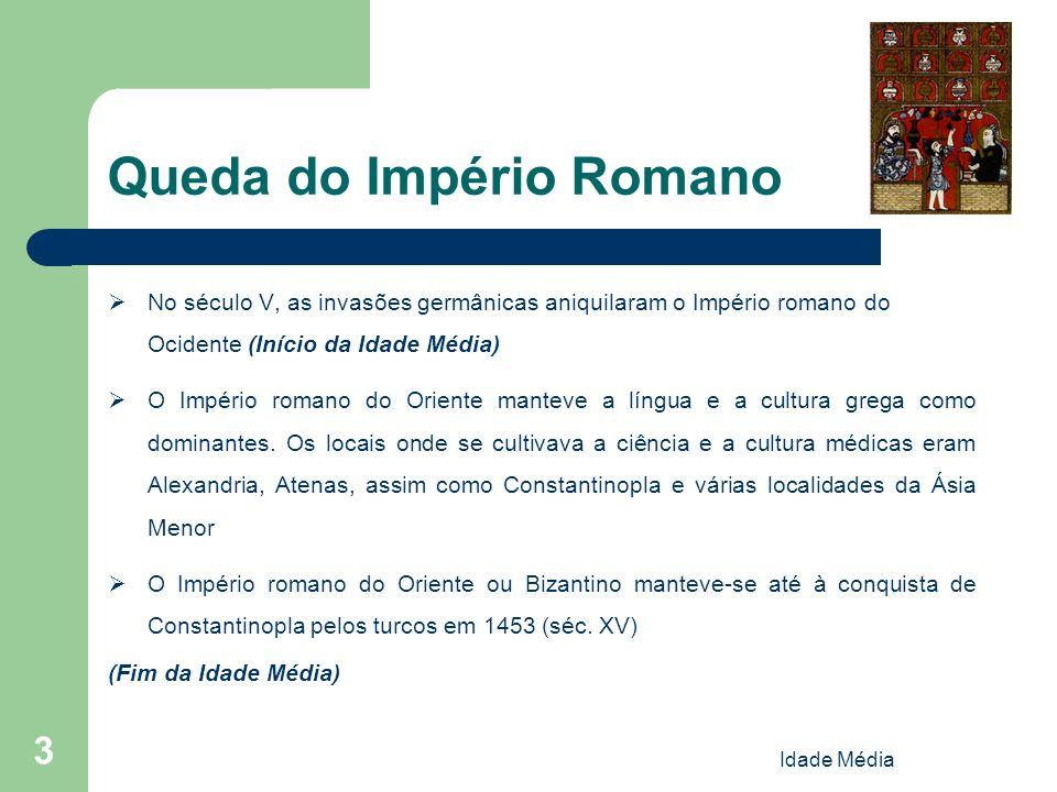 Idade Média 24 Escola de Salerno (origem) Fundada no séc.