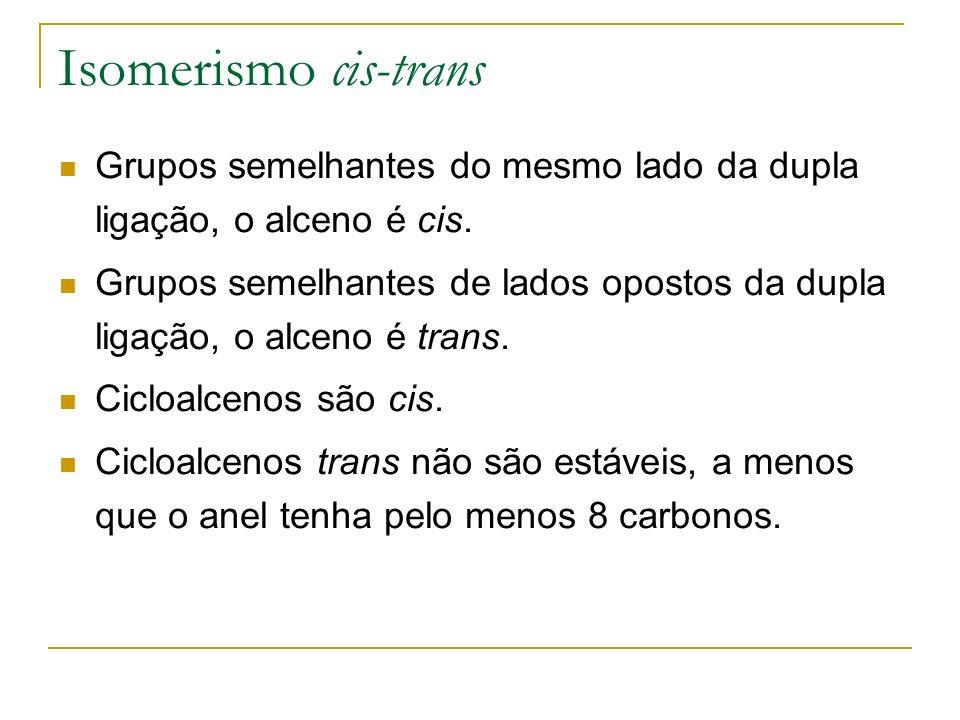 Introdução Alcinos contêm uma ligação tripla.