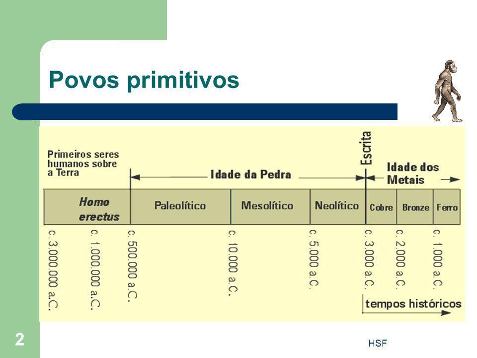 HSF 2 Povos primitivos