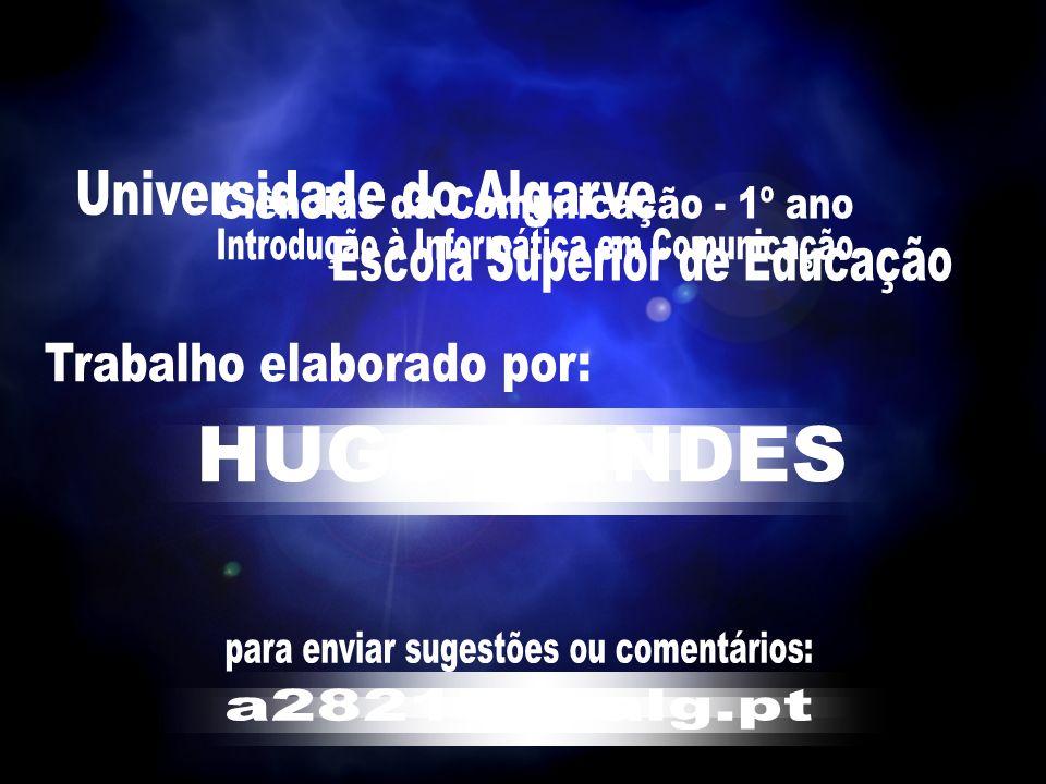 Universidade do Algarve – Escola Superior de Educação Introdução à Informática em Comunicação 12/12/04 Hugo Mendes IIII dddd eeee nnnn tttt iiii ffff